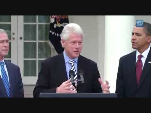 Bill Clinton Confuses George W. Bush
