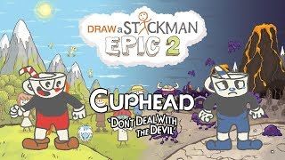 CUPHEAD Draw a Stickman Epic 2 Gameplay - Cuphead Save Mugman - Forever Brothers | GuideAZ