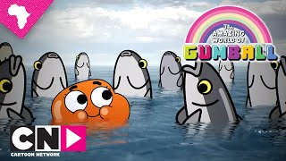 Darwin Getting on His Way | The Amazing World of Gumball | Cartoon Network