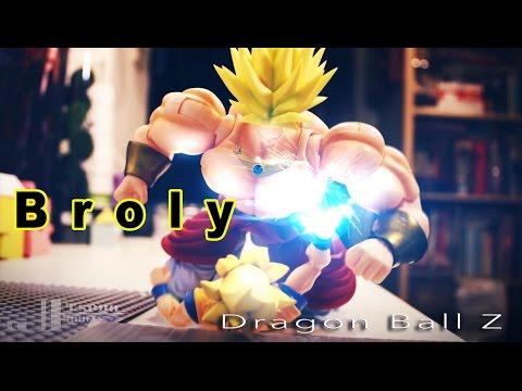 Dragon Ball Z Stop Motion- Broly Fight Goku And Me 七龍珠 布羅利 Vs 悟空和我 video