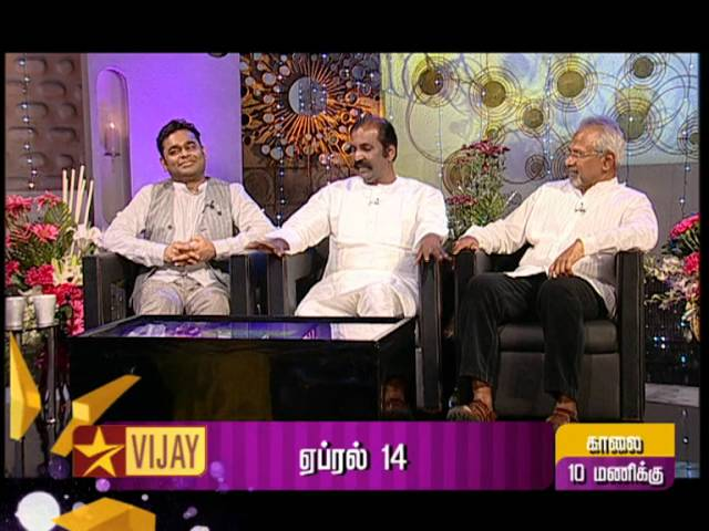 Koffee with DD - AR Rahman, Vairamuthu and Manirathnam | Promo 1