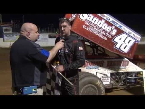 Susquehanna Speedway Park 410 Sprint Car Victory Lane 4-12-15
