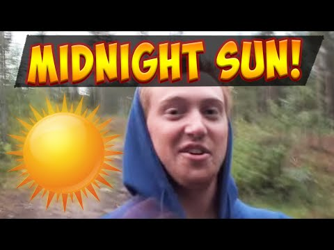 Night Sun Vlog - The forest of Boden