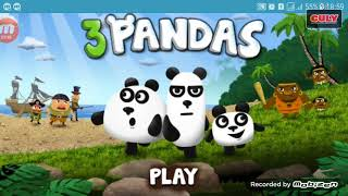 trò chơi Giải cứu gấu 3 chú gấu Panda panda escape cu lỳ chơi game vui nhộn lồng tiếng