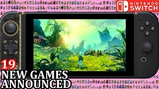 19 New Switch Games ANNOUNCED for Week 2 November 2018 | Weekly Nintendo Direct News