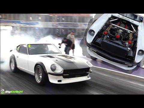 Twin Turbo LSx + Tiny Nissan =