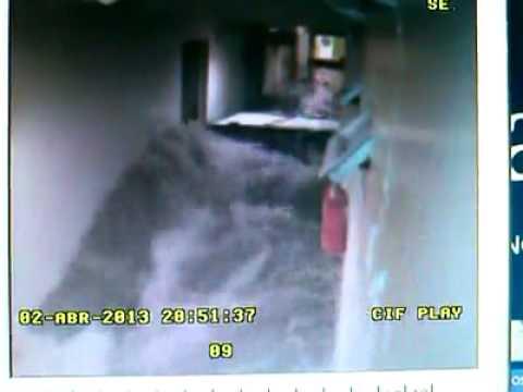 Inundación en La Plata  en el Hospital Español