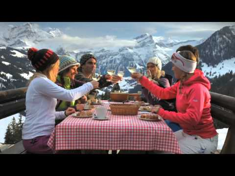 Gstaad Mountain Rides Internet TV Spot Winter 2012/13