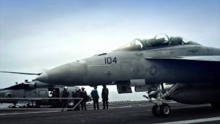 Carrier Operations - F-18 in HD