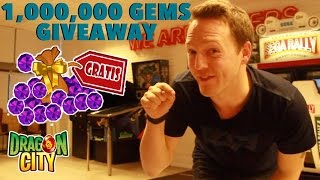 Dragon City - 1,000,000 Gems Giveaway Event | Don
