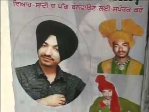 Pride Of Sardar New Tying Turban with Clozed Eyes on Another...