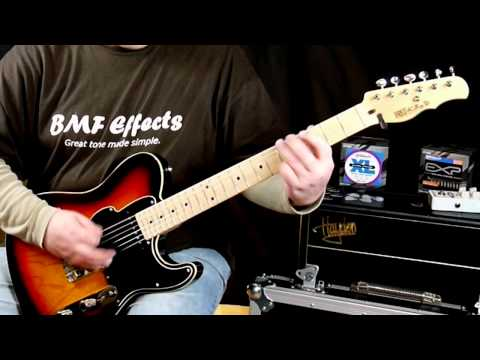 Fret-King Black Label JD guitar (Jerry Donahue) review /demo
