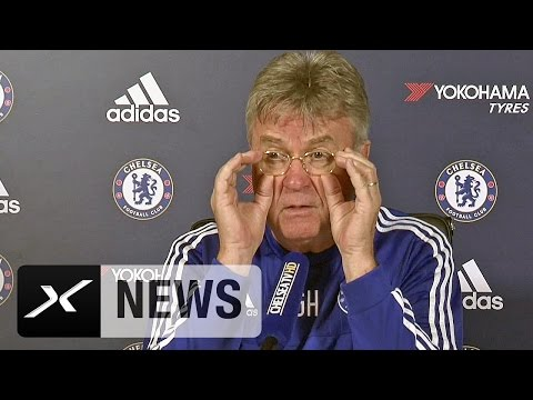 Falsche Brille? Guus Hiddink und die Ladies | FC Chelsea - FC Everton
