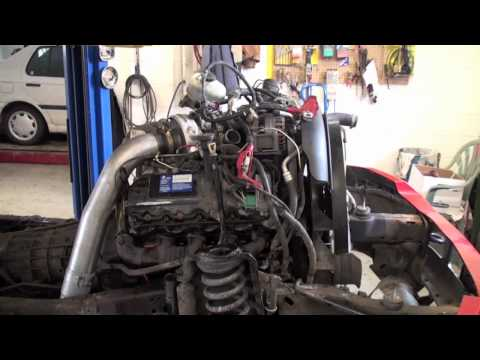 cab off 6.0L powerstroke head gasket repair pt.3