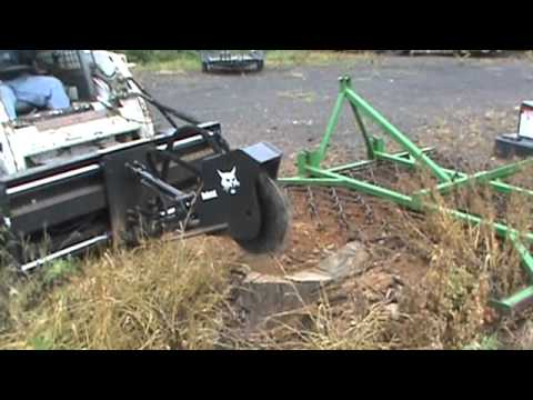 Bobcat SG50 Stump Grinder For Skid Steer Loader For Sale Mark Supply Co