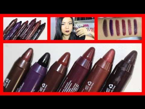 NYX Simply Vamp Lip Cream Swatches & Review