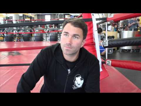 EDDIE HEARN FROM BOSTON JAMES DeGALE v ANDRE DIRRELL BRANDS 'THE COBRA' CARL FROCH A COMEDY GENIUS