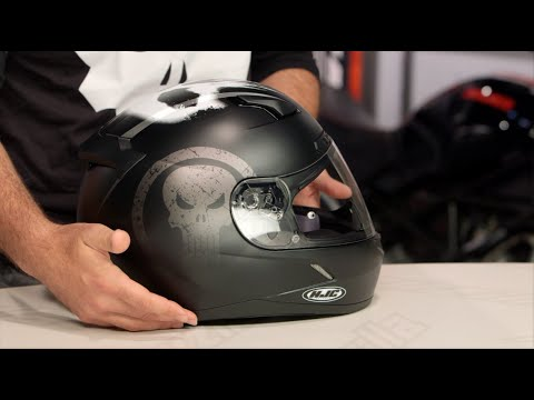 HJC CL-17 Punisher Helmet Review at RevZilla.com