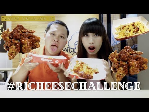 TUKANG (n)JAJAN #3 - Challenge Richeese FIRE WINGS ULTIMATE ! - YouTube