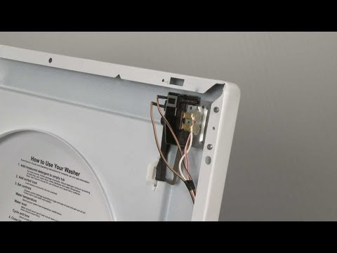 Lid Switch Assembly - Frigidaire Washer: Top-Loading