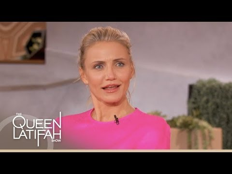 Cameron Diaz and Ian Somerhalder on The Queen Latifah Show