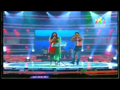 Shwetha Mohan And Siyad Singing At Josco Indian Voice.... video