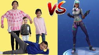 BOYS Vs GIRLS Fortnite Dance Challenge!! Ckn Toys