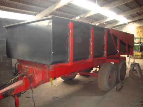 restauration d 39 une benne panien 12 tonnes restore a