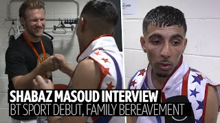 Shabaz Masoud pays tribute to his grandma after she passed away during fight week