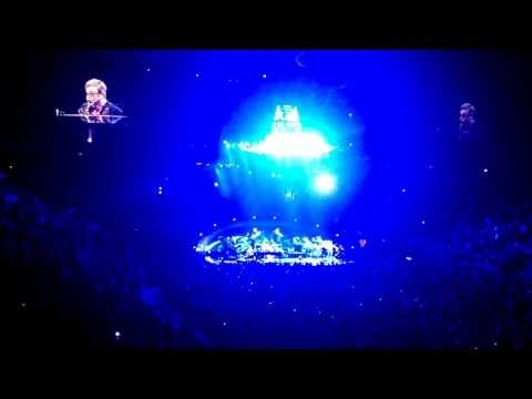 Sir Elton John's 64th concert at Madison Square Garden on 12/04/2013