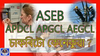 ASEB APDCL Job Profile & Which Post to Apply & Tips for Girls & ITI_Assam Education Revolution