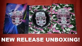SNSD 소녀시대 少女時代 New Release Unboxing - The Best Live at Tokyo Dome Concert (Blu-ray Version)