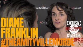 "Diane Franklin interviewed at #Screamfest Horror Film Festival Premiere of ""The Amityville Murders"""