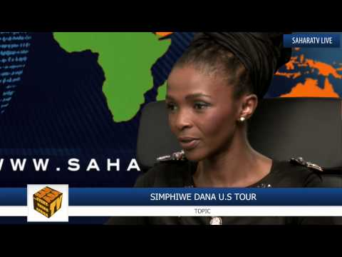 South African Jazz Musician Simphiwe Dana In The Studio video