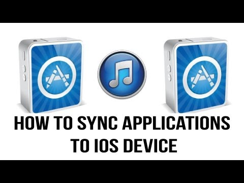 Itunes 11 Tutorial - How To Sync Apps To Your iPhone. iPad or iPod