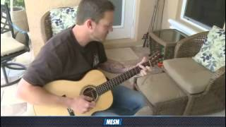 Jake Peavy All Access  Red Sox Pitcher Uses Music To Unwind Video 640x480