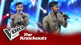 Kusal Lochana | Naukawa Knockouts | The Voice Teens Sri Lanka