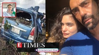 Actress dies in road accident; Arjun Rampal and girlfriend Gabriella blessed with a baby boy