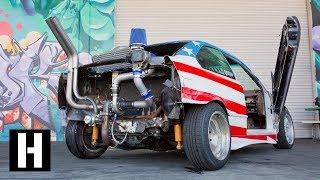 Rear Mounted eBay Turbo?? Sh*tcar Gets Boost