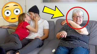 Being PDA To See How My GRANDMA REACTS!