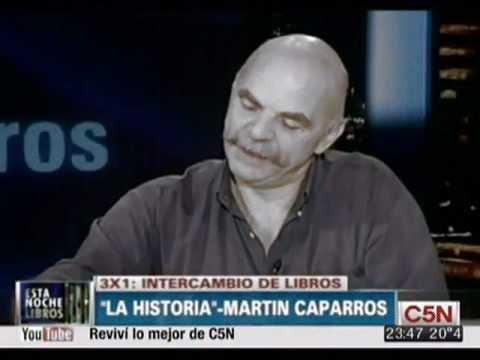Intercambio de Libros con Martín Caparrós