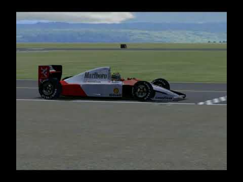 Me Testing the McLaren MP4/6 at the Top Gear Test Track Trackside Cameras. This is an awesome car! Over 500 views! Thank you all!