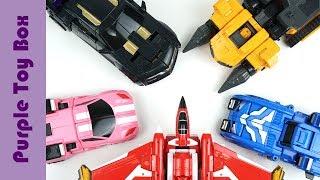 미니특공대X 변신 모음, 레이봇 볼트봇 세미봇 루시봇 맥스봇 Mini Force X Car Robot