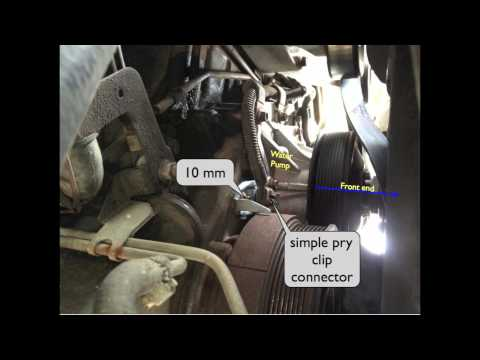Camshaft Position Sensor 7.3 powerstroke Location and Install