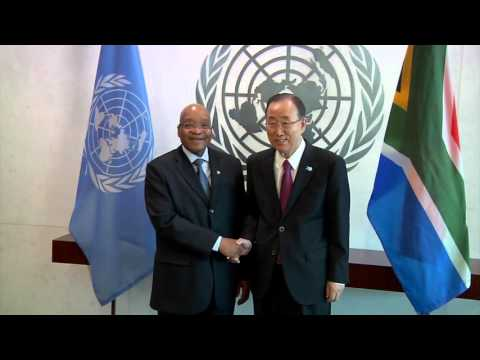 President Jacob Zuma attends the United Nations General Assembly (UNGA)