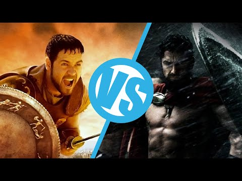 Gladiator Types Movies 300 vs Gladiator Movie Feuds
