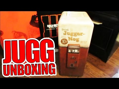 Black Ops 3: JUGGERNOG LIMITED EDITION LIVE UNBOXING! - Jugg Mini Fridge First Look