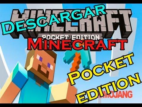Como descargar e instalar Minecraft Pocket edition para Android [FULL y GRATIS]