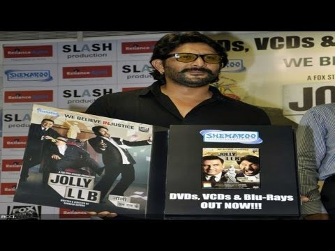 Watch Arshad Warsi At The DVD Launch Of 'Jolly LLB'