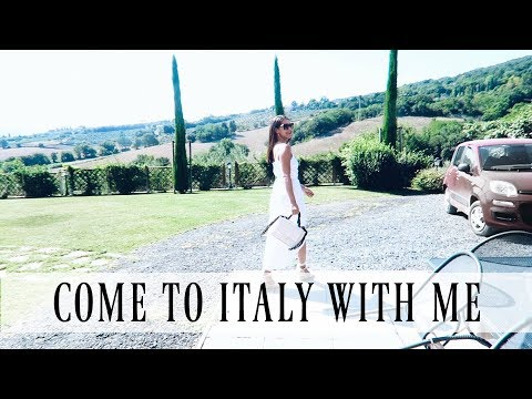 WHAT I DID, ATE AND WORE IN TUSCANY ITALY | Lilian Joann